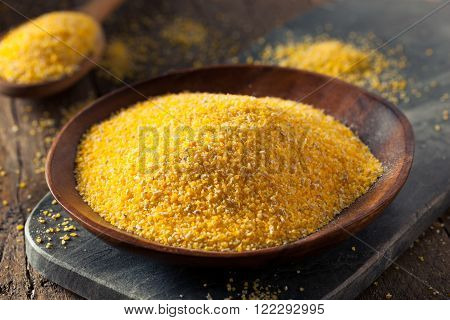 Raw Organic Polenta Corn Meal
