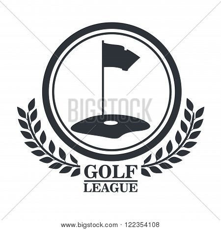 golf league design, vector illustration eps10 graphic