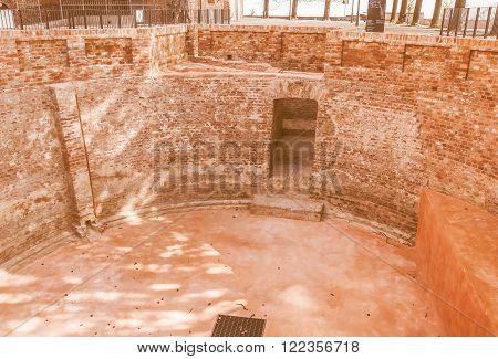 Rainwater Tank At Rivoli Castle Vintage