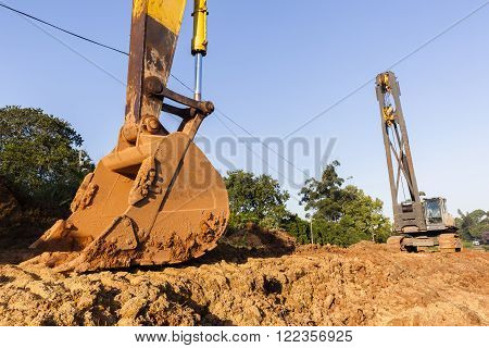 Excavator Bin  Crane Construction Machines