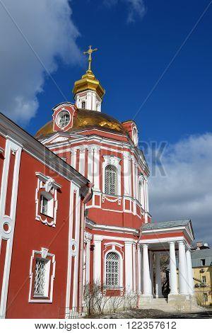 Temple of the Great Martyr Nikita on a Staraya Basmannaya Street, Moscow, Russia