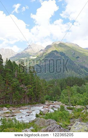 Mountain River, Landscape