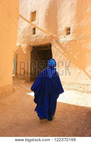 Tuareg Man In Rissani