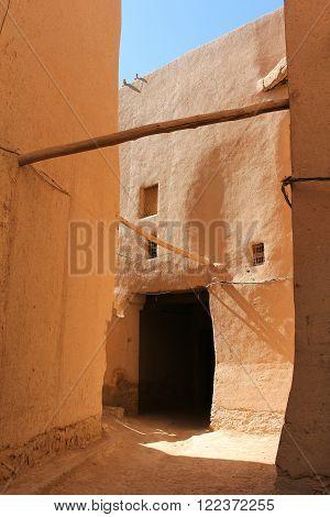 Alleys In The Ksar In Rissani