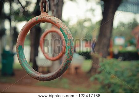 This a photo of Rusted Iron Ring playground