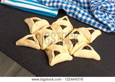 Purim - Traditional Cookies Hamantaschen Or Haman's Ears