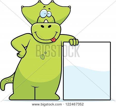 Dinosaur Leaning