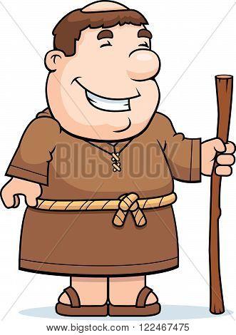 Friar Smiling