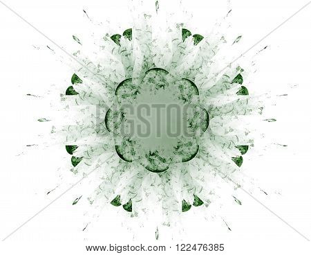 Abstract Fractal Patterns And Shapes. Fractal Texture. The Colors In The Series, Fancy Paint. Backgr