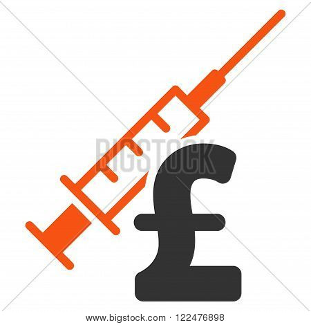 Narcotic Pound Business vector icon. Narcotic Pound Business icon symbol. Narcotic Pound Business icon image. Narcotic Pound Business icon picture. Narcotic Pound Business pictogram. poster