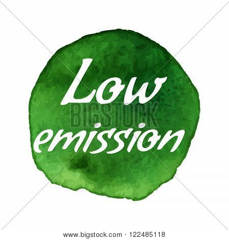 Vector Environmental Eco Label