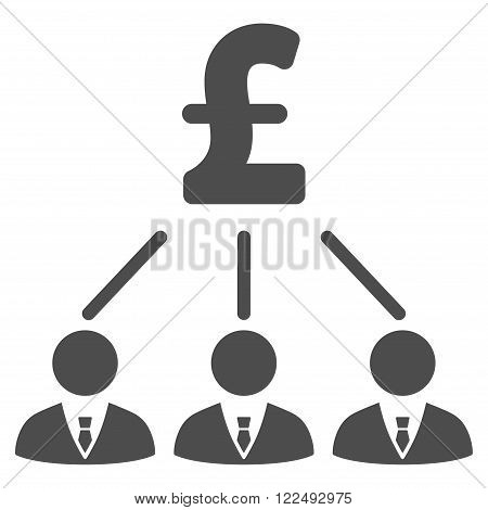 Pound Shareholders vector icon. Pound Shareholders icon symbol. Pound Shareholders icon image. Pound Shareholders icon picture. Pound Shareholders pictogram. Flat pound shareholders icon.