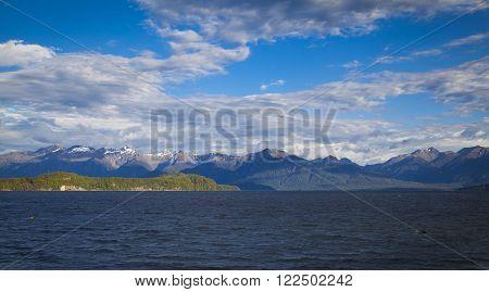 Lake Manapouri Fjordland Neuseeland