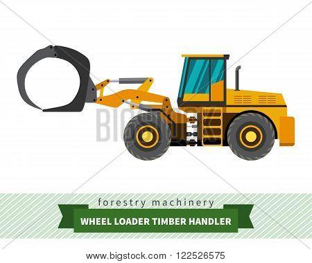 Timber Handler Vehicle