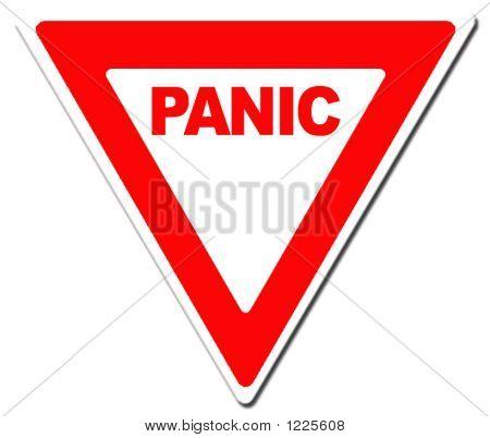 Panic Yield Sign