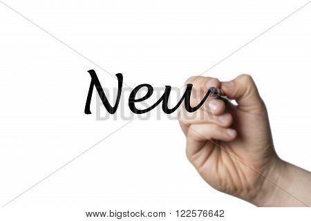Neu Written By A Hand