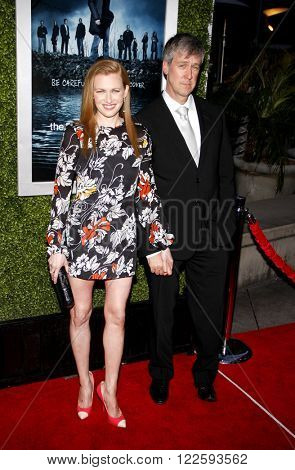 Mireille Enos and Alan Ruck at the Los Angeles Season 2 premiere of AMC's 'The Killing' held at the ArcLight Cinemas in Hollywood, USA on March 26, 2012.