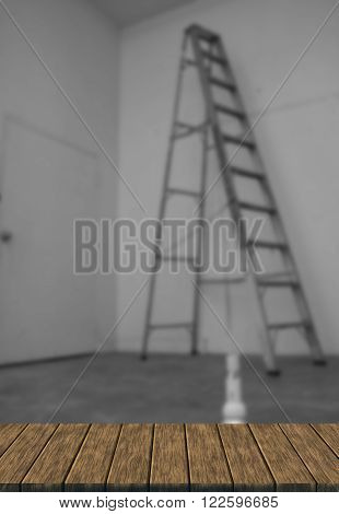 Light Bulb And Ladder