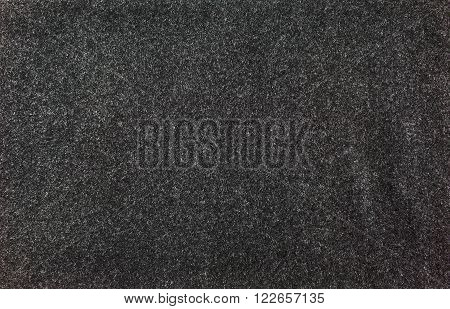 felted fabric dark gray color. Felt texture for text. poster
