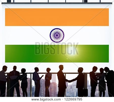 India Flag Patriotism Indian Pride Unity Concept
