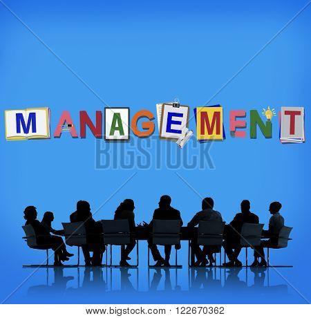 Management Company Business Organization Corporate Concept