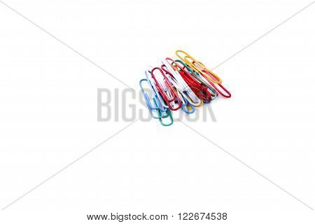 Colurful Paperclips