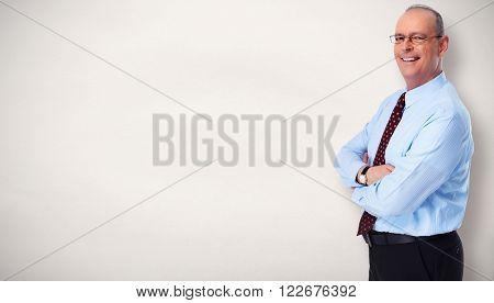 Senior businessman.