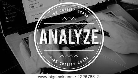 Analyze Analytics Plan Strategy Insight Concept