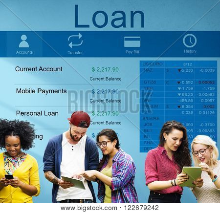 Loan Banking Accounting Budget Money Concept