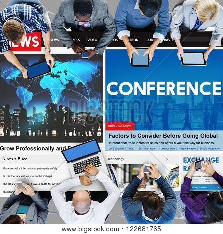 Conference Meeting Business Sharing Workship Training Concept