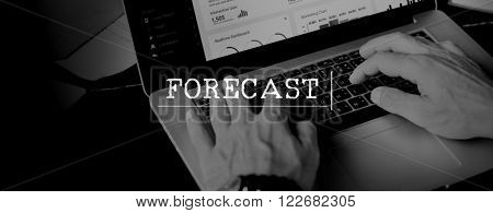 Forecast Prediction Future Plan Strategy Online Concept