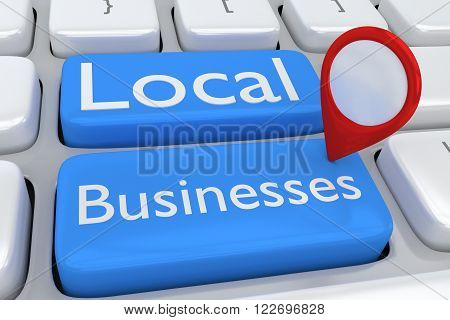 Local Businesses Concept