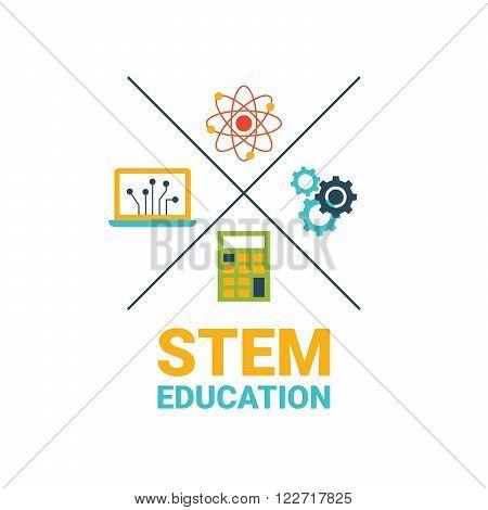 Stem Education Concept