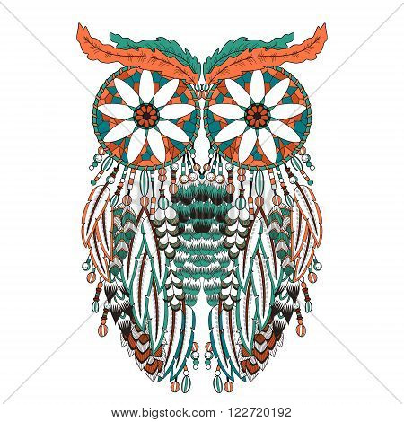 Breathtaking Owl Coloring Page