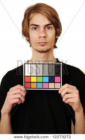 Mugshot Of A Videographer Or Photographer