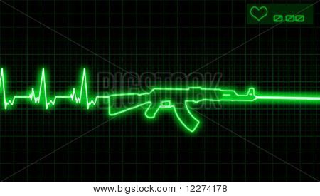 Heartbeat And Rifle