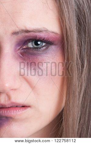 Domestic Violence Concept