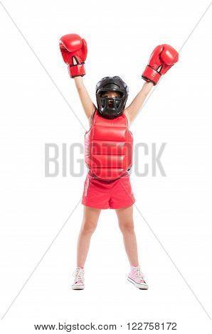 Little Boxer Girl