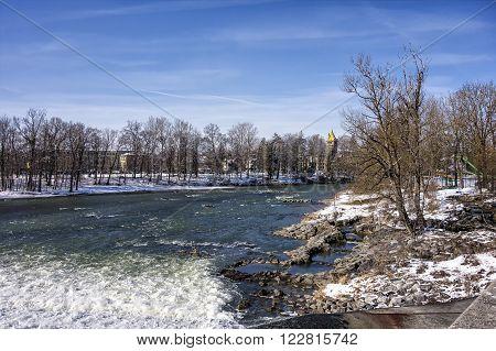 River Lech In Landsberg