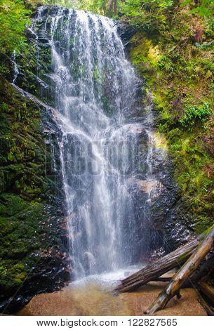 Berry Creek Falls Big Basin Redwoods State Park California