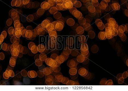 Abstract Blurs Defocused Lights Background