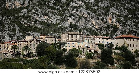 Medieval Town Hideaway In Mountain
