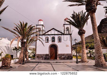 Old Vintage Catholic Church Virgen de las Nieves