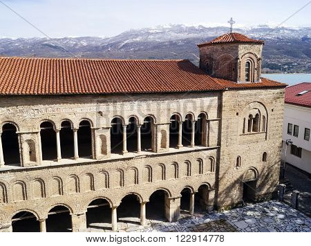 Church of St. Sophia is one of the main landmarks in Ohrid Macedonia