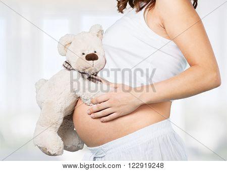 Pregnant.