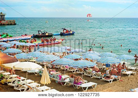 Crimea Black Sea Beach