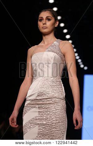 Ozlem Erkan Catwalk In Mercedes-benz Fashion Week Istanbul