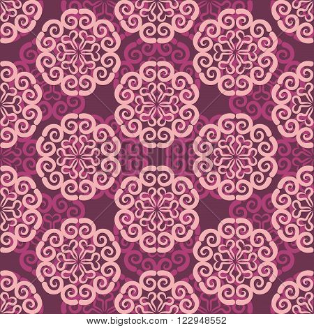 Georgian Seamless Pattern. Traditional National Pattern Of Georgia. Texture Pattern Peoples Of Centr