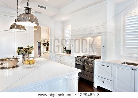 Beautiful Kitchen Having Electrical Automatic Cooking Gas
