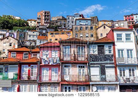 Porto Portugal The historic centre of Porto